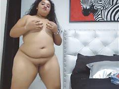 Slutty Chunky Teen Dancing