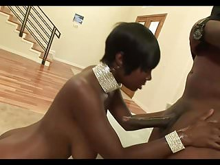 Black And Ebony Big Boobs Black video: Sexy Black Milf With Short Hair
