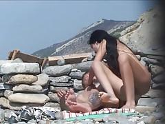 Mierda playa caliente