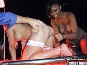 Dirty D Wild Christmas Gangbang In Strip Club