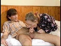 europejska babcia dostaje to dobrze pt1