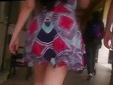 Uff tremendo culazo tras ese vestido Skirt wide Hips Waist