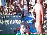 Velvet Swingers Club bizzare private beach orgy