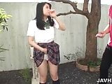 Young Runa Mizuki to devour cock in outdoor scenes