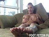 My feet will make your big cock so hard