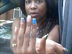 Kesha Blue Ongles