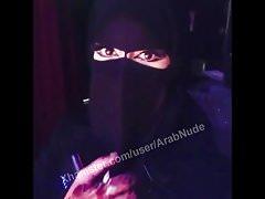 Sexy arab niqab čelí saúdské khalij tváři!