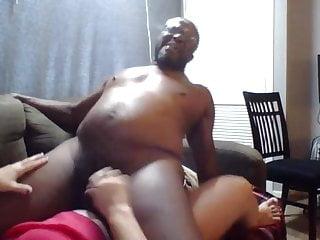 Amateur Bbw Strapon video: Taking KItten's Black Cock!
