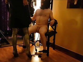 Spanking Whipping Ballbusting video: SUBDUED IN HER KINGDOM