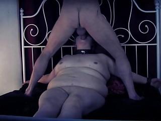 Bbw Bdsm Slave video: Slave BBW pig extreme rough sex spanking fisting torture cim