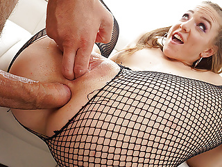 Small But Flexible Girl taking Monster Cock in Ass