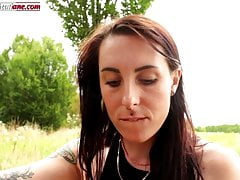 Educating Aline - Outdoor Barefoot Domination