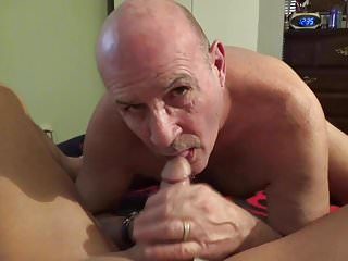 .Sucking michaels cock and balls.