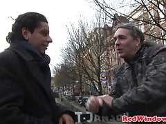 Amsterdam hooker doggystyle fucked by tourist