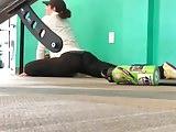 Gym Booty Stretching