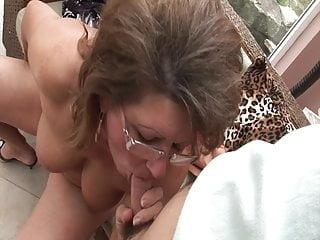 Tits Granny Dildo video: Grandma needs a young cock