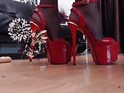 red heels for heel lovers......