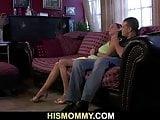 Naughty mature mom wanna son's girlfriend