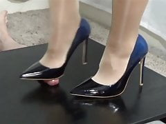 Footjob met High-Heels.854