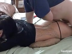 She wouldn't let him pull out - Creampie Domination HD