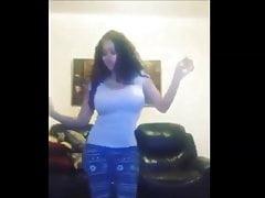 Heißer arabischer arabischer Tanzbauchtanz nach Hause Ägypter