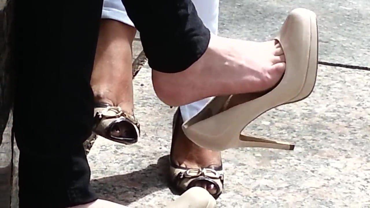 High Heel Insertion Pussy