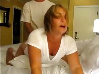 Anal Big Tits video: Desperate Amateur Wife Pleasing Her Co-Worker In Hotel Room