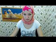 Teen hijab webcam
