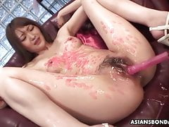 Skinny Fuck Damsel, Rina Serizawa Is Pleasing Many Kinky Men