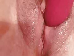Dildospiel und mehrere Cums