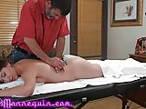 Massage Fingering Skinny video: Neighbor's Sexy Wife Climaxes Riding Richard Nailder's Cock