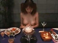 Cottura della spuma di fonduta