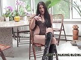 I want to try deepthroating your big cock JOI