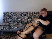 Cute Girl Blowjob In Bondage