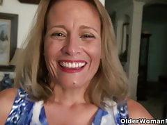 Una donna anziana significa parte divertente 50