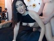 Horny Brunette Blowjob And Fuck