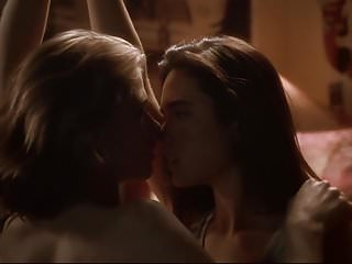 Kristy Swanson and Jennifer Connelly - ''Higher Learning''