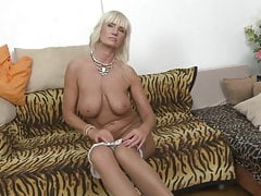 Sexy mature mother with amazing big tits