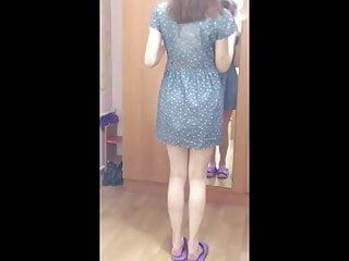 Foot Fetish Teen Babe video: bare legs teen upskirt
