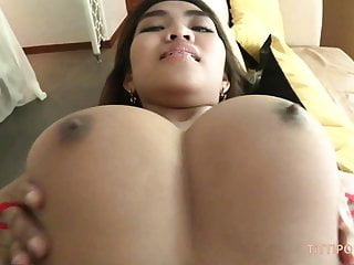 Asian Tits Thai video: Big busty naturals on hot Thai babe