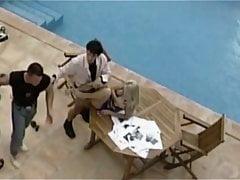 słowacka babe pieprzy wszystko przy basenie