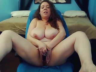 Bbw Sex Toys Big Tits video: Loud moaning MILF Mariah with huge bouncing tits