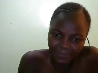 Camming with an African goddess