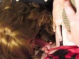 Hot Redhead Laura Gives a sensual Blowjob