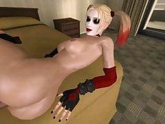 Harley Quinn 3DSex Zusammenstellung