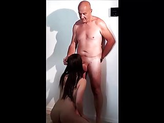Stepdaughter Sucking Her Stepfather's Cock