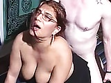 Porno video: Thick redhead amateur impaled by a big cock