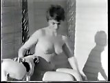 Vintage outdoor nude