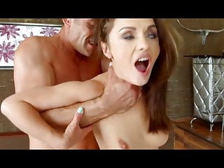 Milf Pussy xxx: Skinny fitness girl get brutal fucking and deepthroat