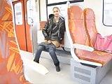 Train Flasher Amateur Girl